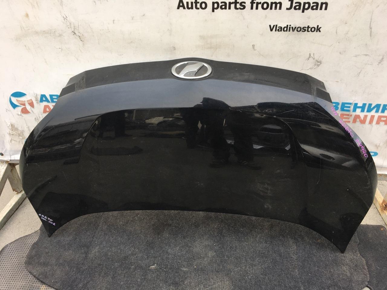 Капот Toyota Voxy ZRR70 3ZR-FE