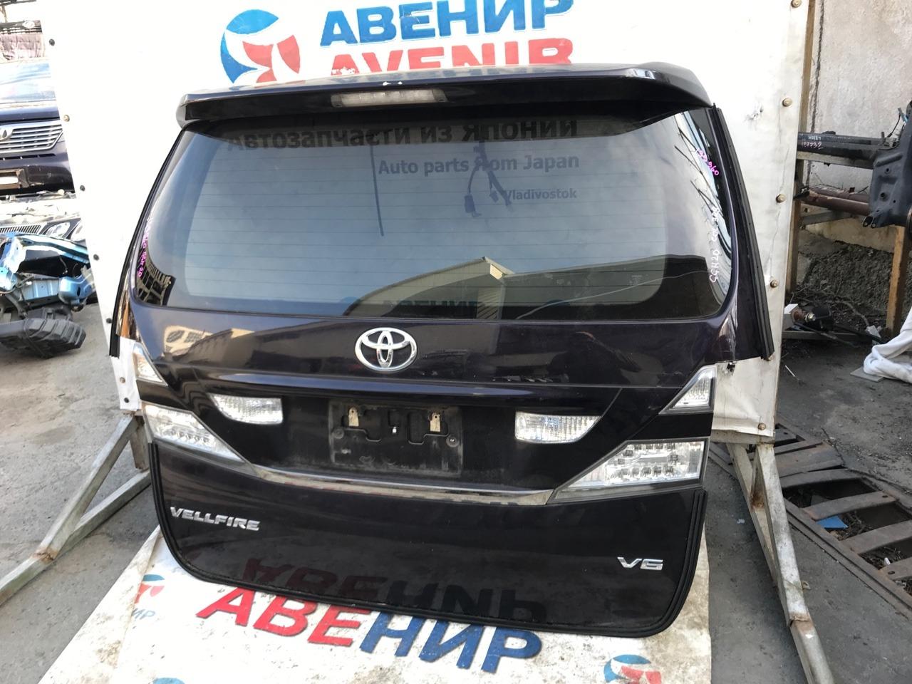 Дверь задняя Toyota Vellfire ANH20