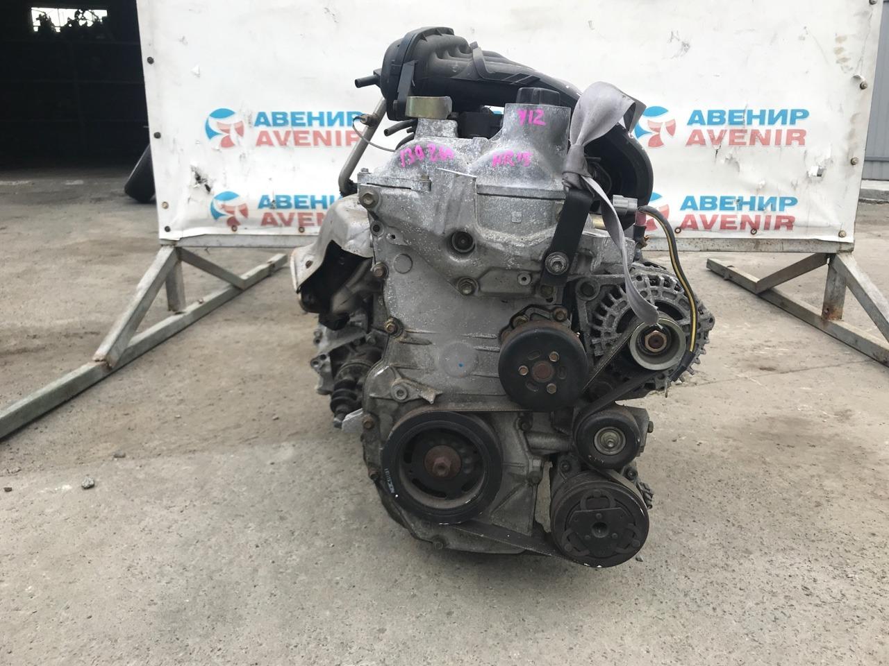 Двигатель Nissan Wingroad Y12 HR15