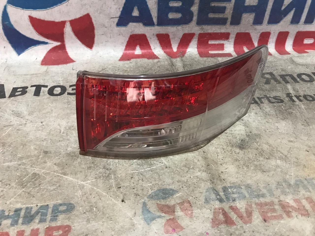 Стоп-сигнал Toyota Avensis ZRT272 задний правый