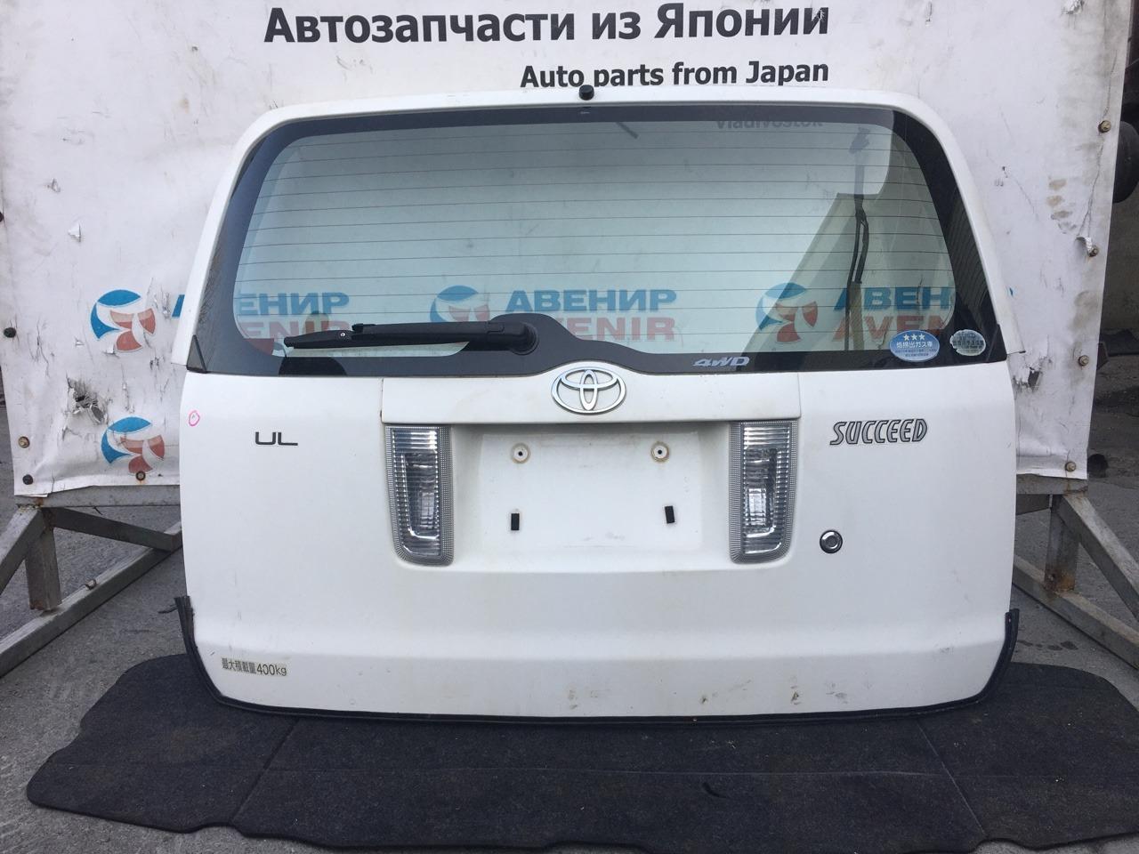 Дверь задняя Toyota Succeed NCP55