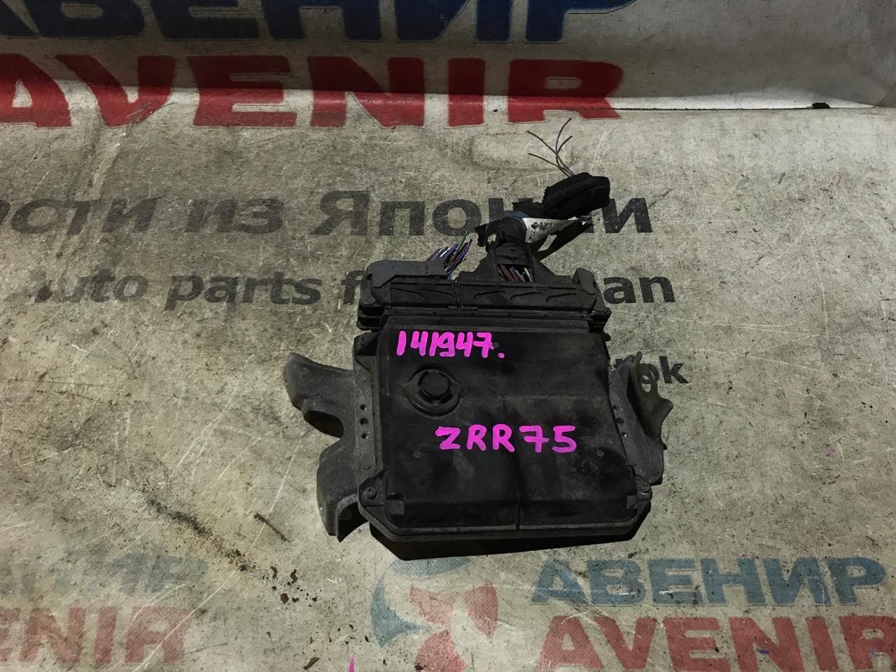 Блок управления efi Toyota Voxy ZRR75 3ZR-FE