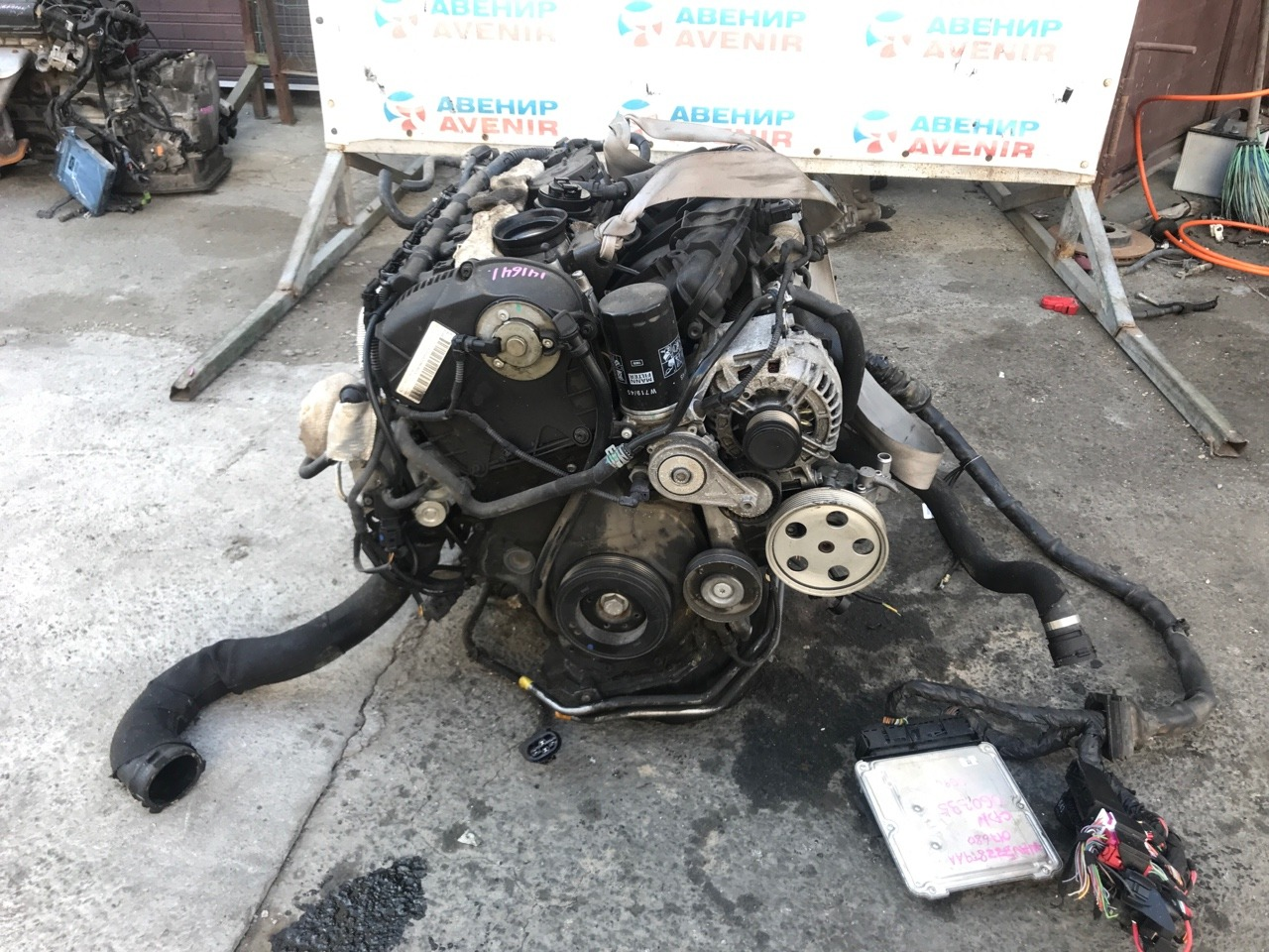 Двигатель Audi A5 CDN