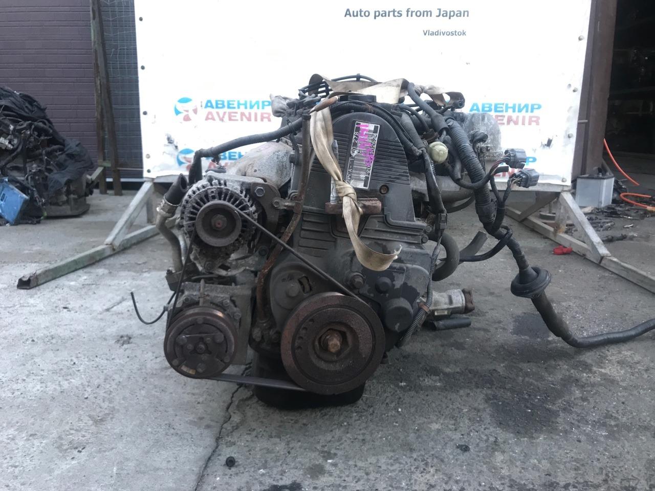 Двигатель Honda Accord CF5 F20B