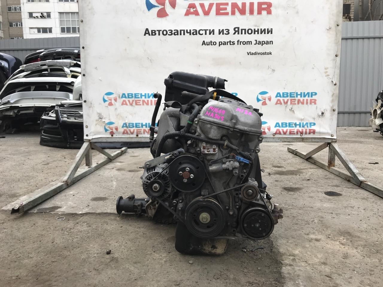 Двигатель Suzuki Chevrolet Mw ME34S M13A