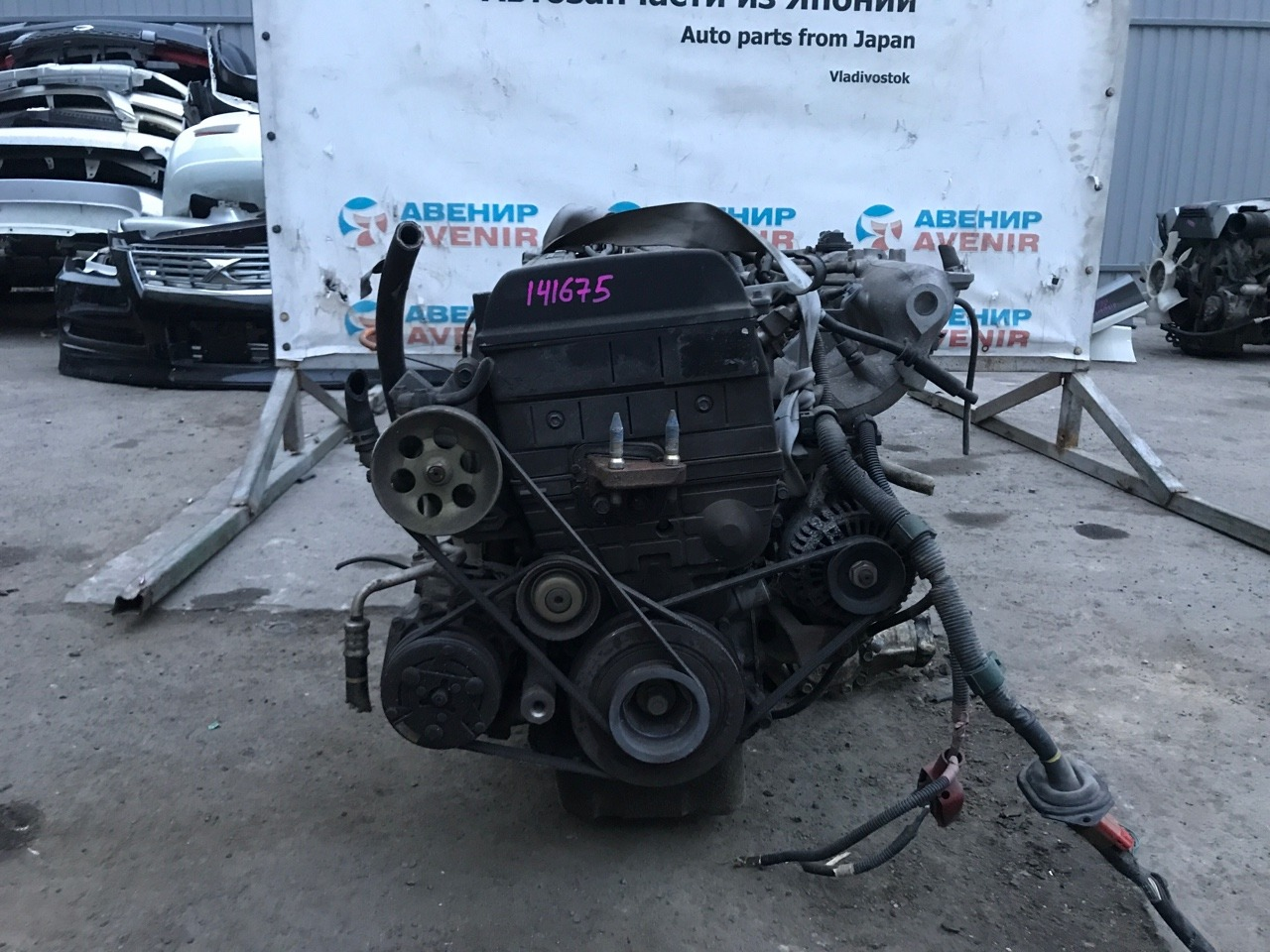 Двигатель Honda Orthia EL3 B20B