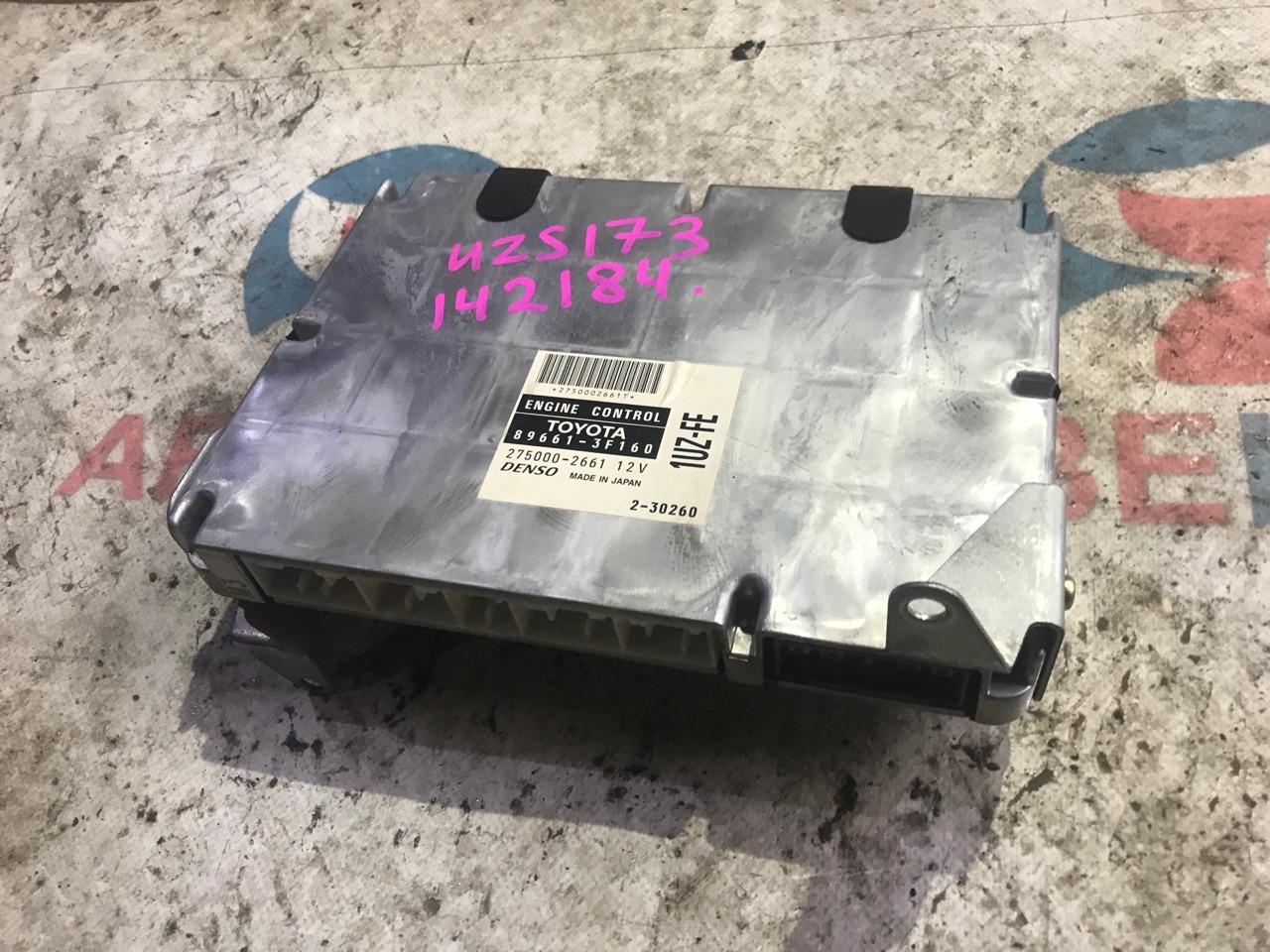 Блок управления efi Toyota Crown Majesta UZS173 1UZ-FE