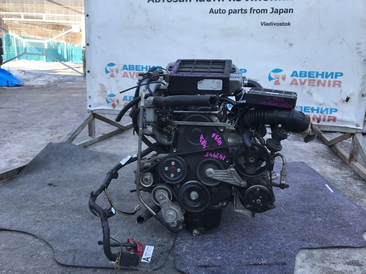 Двигатель Nissan Kix H59A 4A30 T