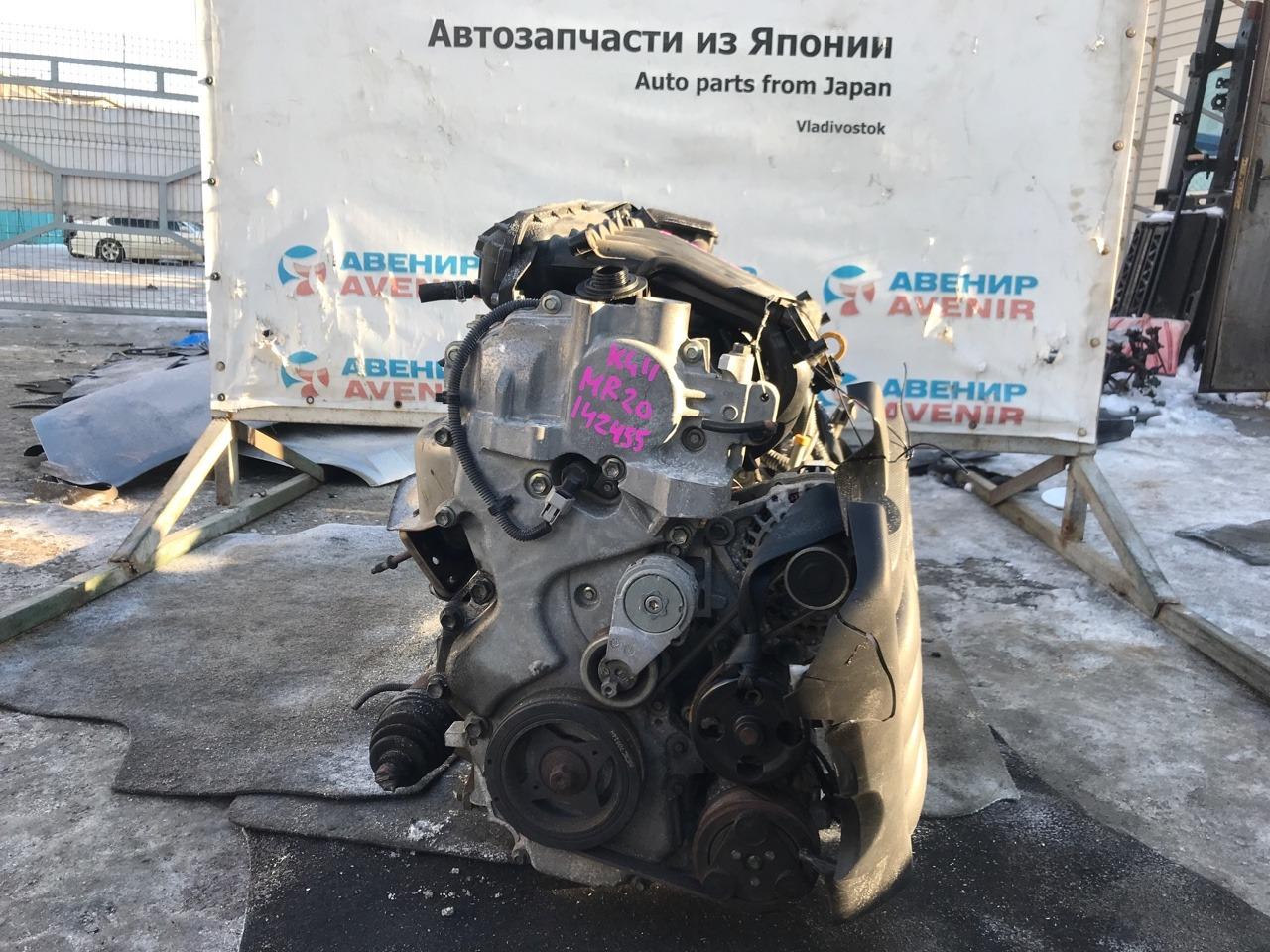 Двигатель Nissan Bluebird Sylphy KG11 MR20DE
