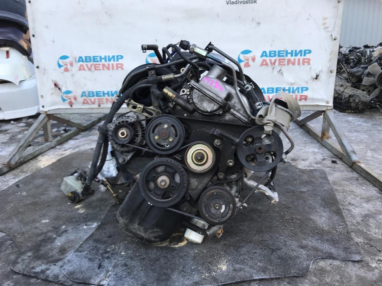 Двигатель Toyota Vitz SCP10 1SZ-FTE