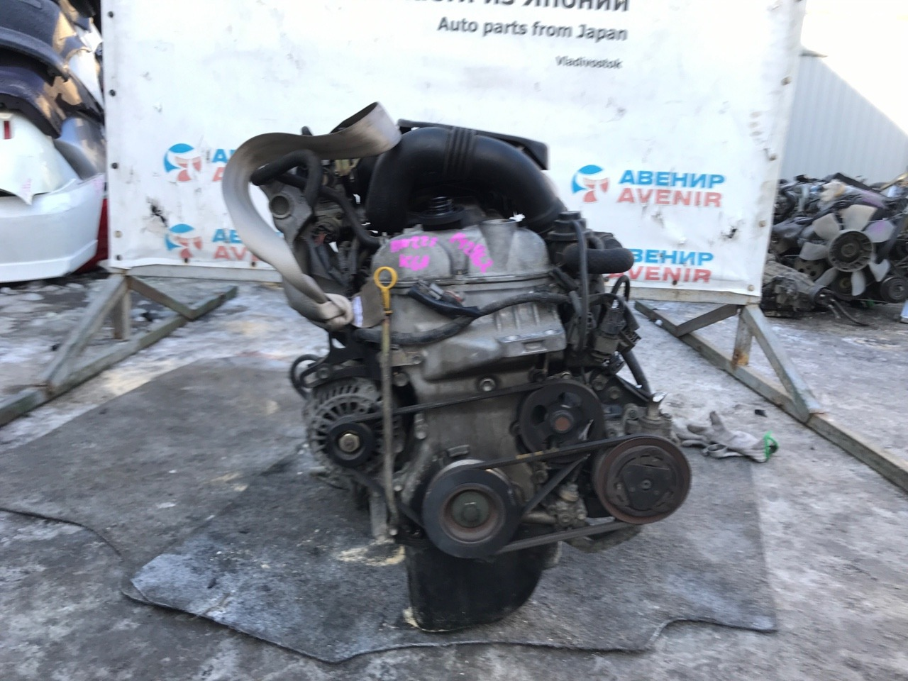 Двигатель Suzuki Kei HN22S K6A-T