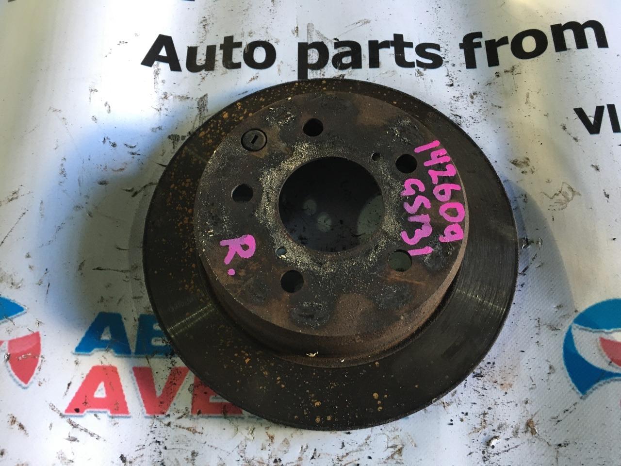 Тормозной диск Toyota Crown GS131 задний