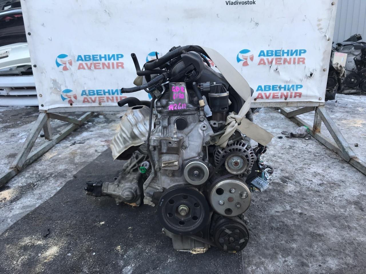 Двигатель Honda Fit GD2 L13A