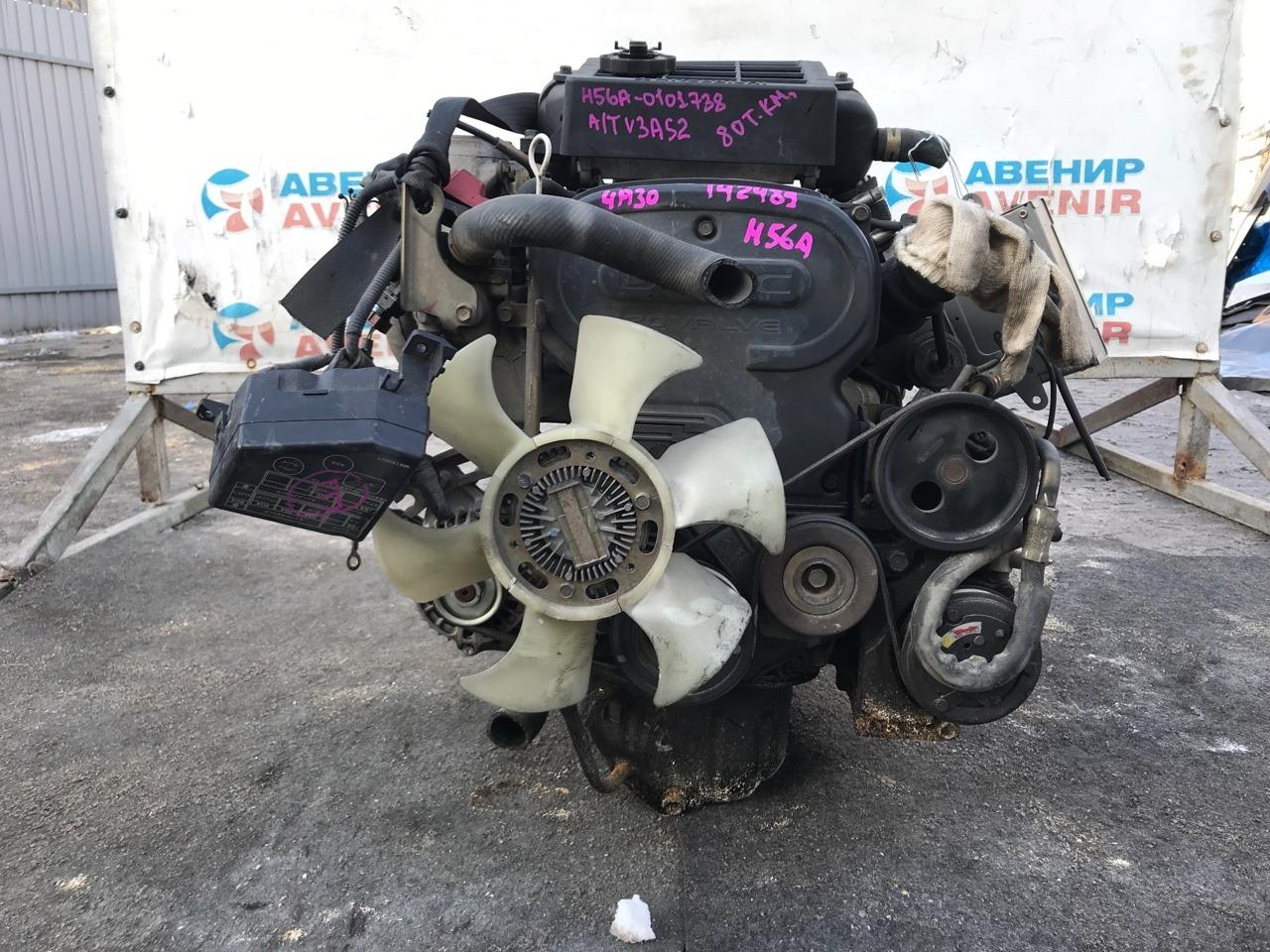 Двигатель Mitsubishi Pajero Mini H56A 4A30T