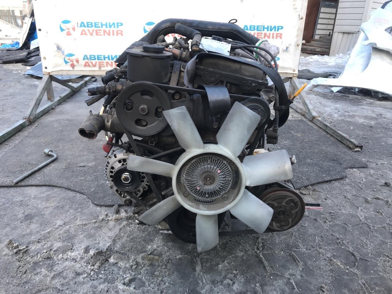 Двигатель Nissan Caravan E24 KA24DE