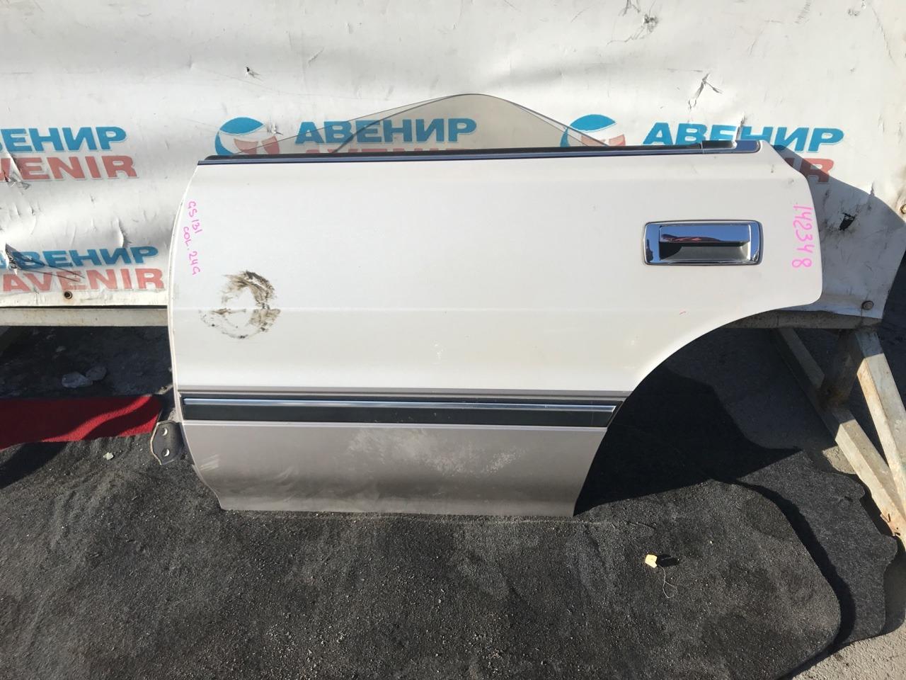 Дверь Toyota Crown GS131 задняя левая