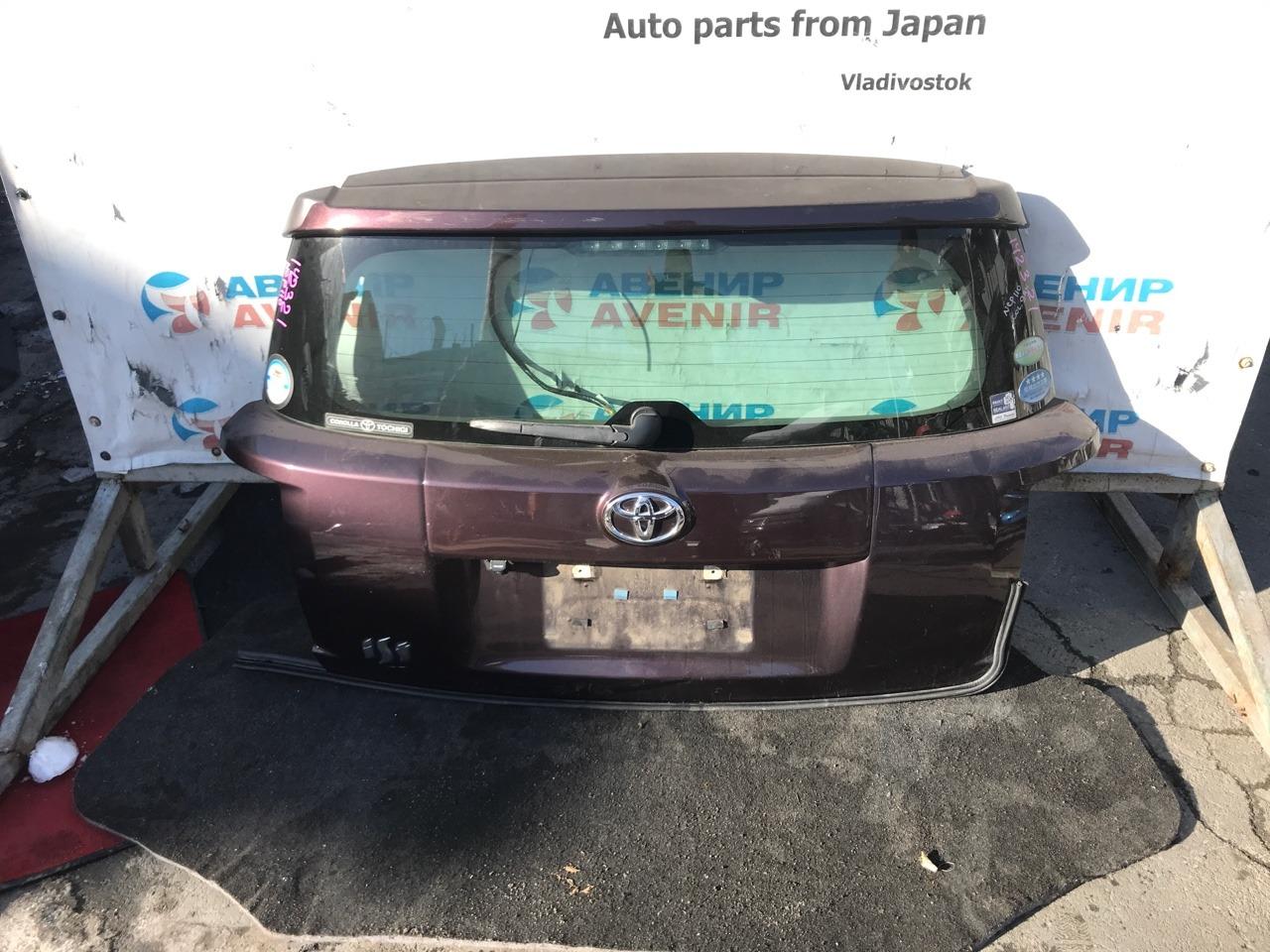 Дверь задняя Toyota Ist NCP110