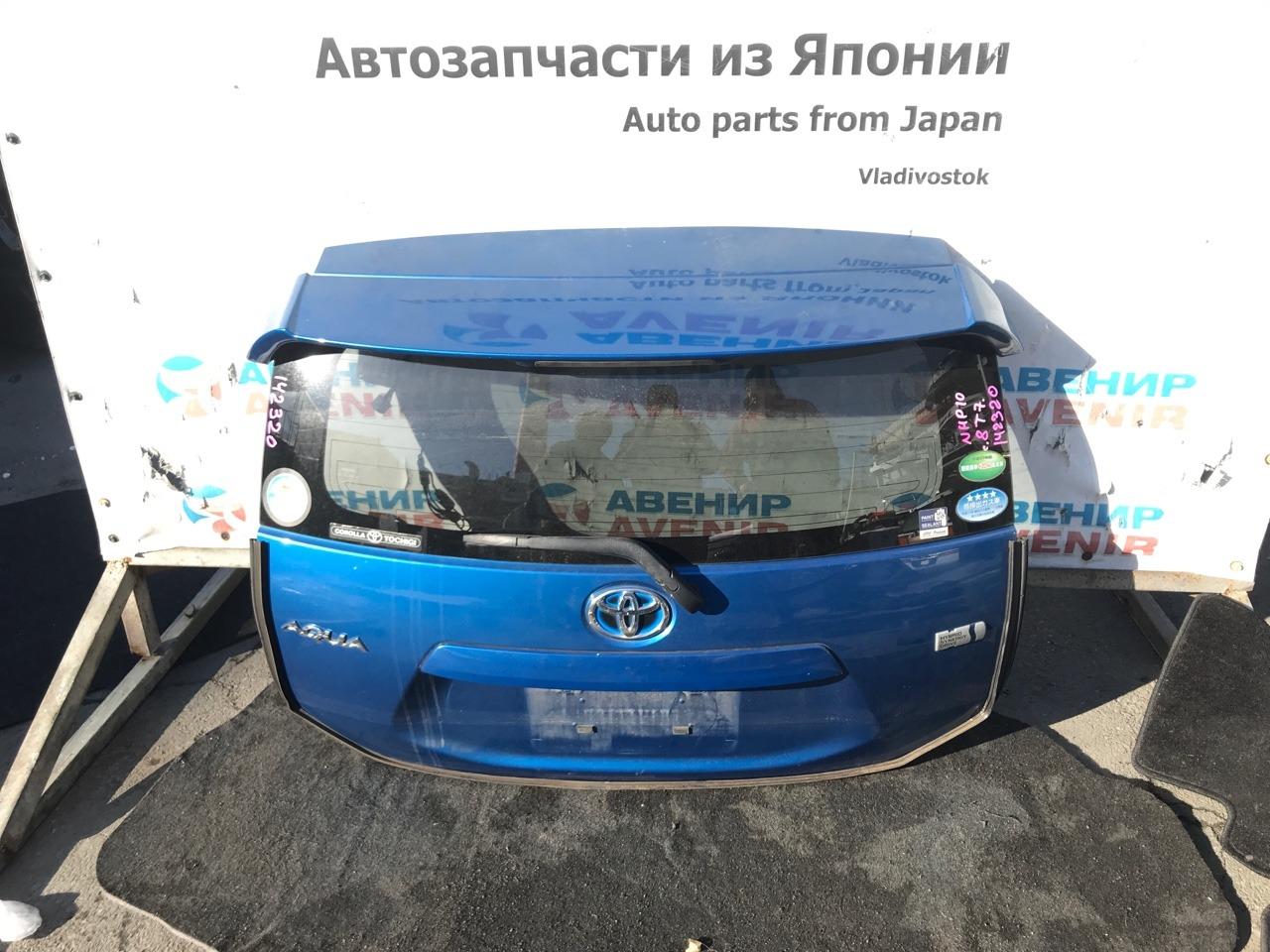 Дверь задняя Toyota Aqua NHP10