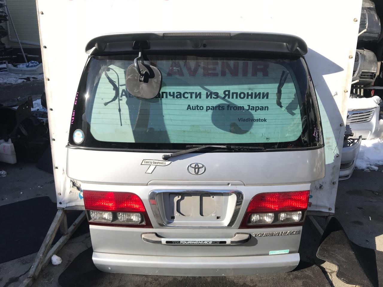 Дверь задняя Toyota Regius RCH41 3RZ