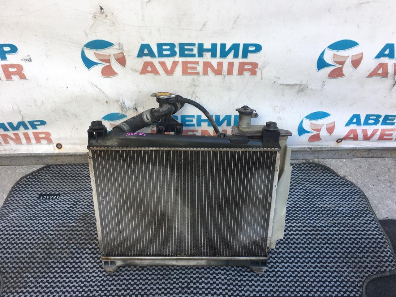 Радиатор Toyota Funcargo NCP25 1NZ-FE