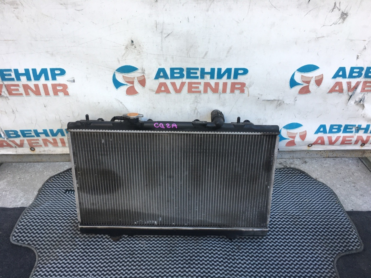 Радиатор Mitsubishi Dingo CQ2A 4G15