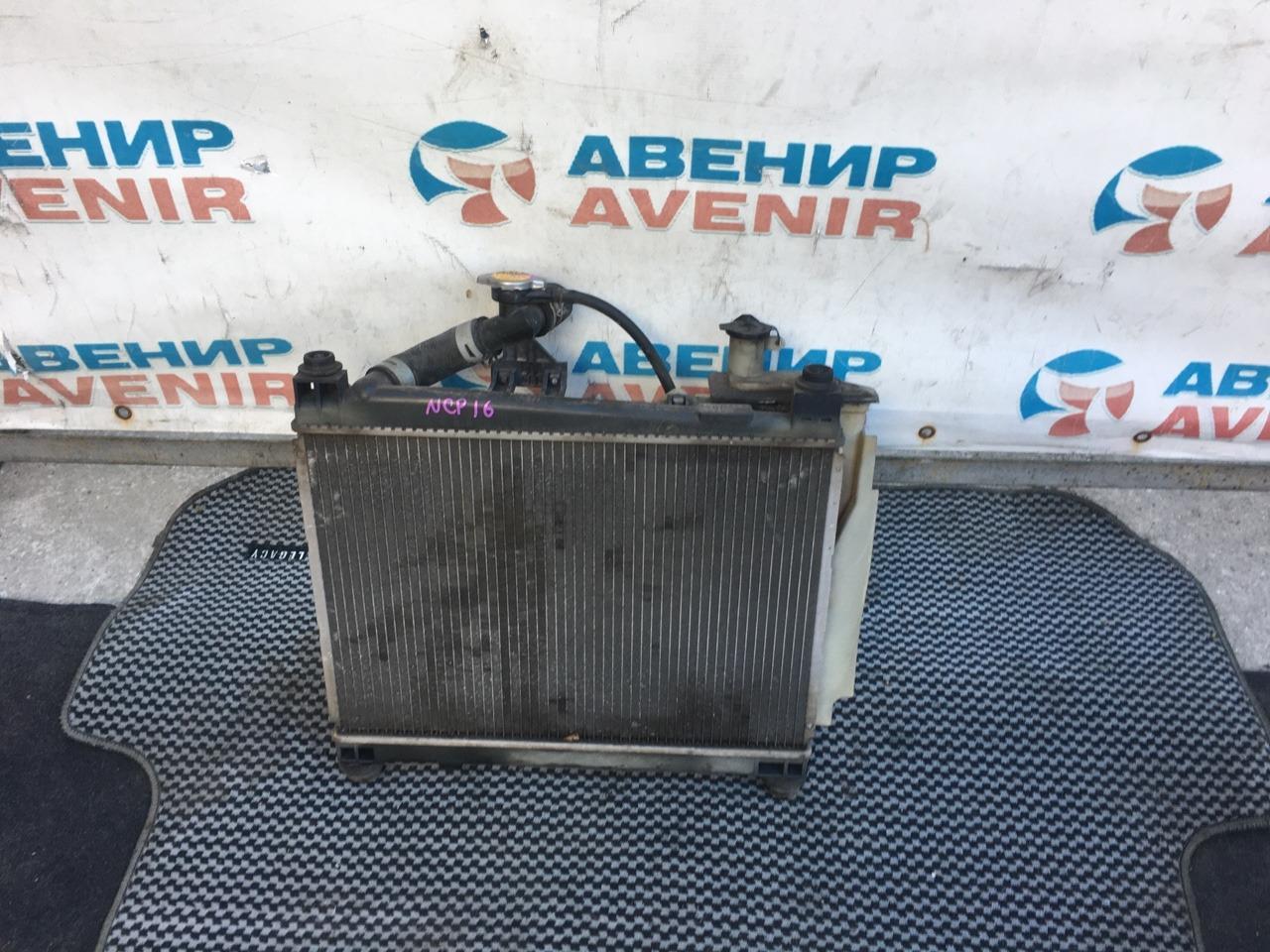 Радиатор Toyota Platz NCP16 1NZ
