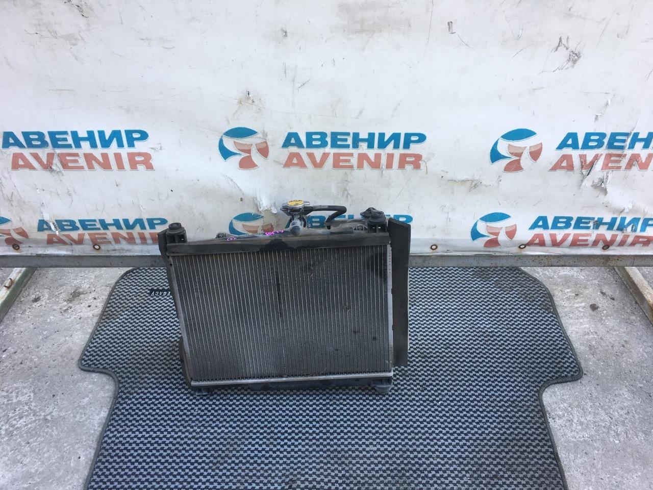 Радиатор Toyota Vitz SCP13 2SZ-FE