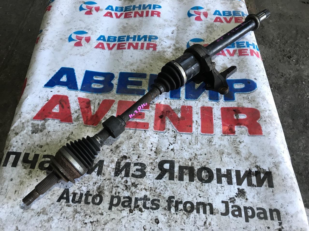 Привод Toyota Avensis ZRT272 передний правый