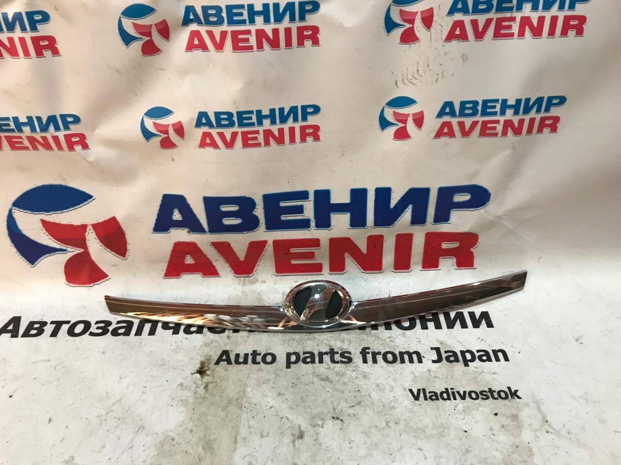 Накладка на капот Toyota Wish ZNE10