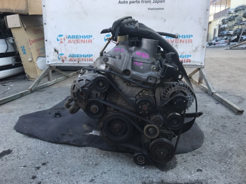 Двигатель Nissan Tiida SNC11 HR15DE