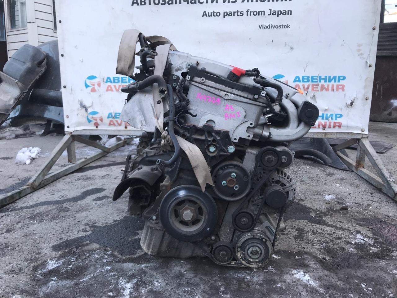 Двигатель Audi A3 WAVZZZ8P76A BMJ