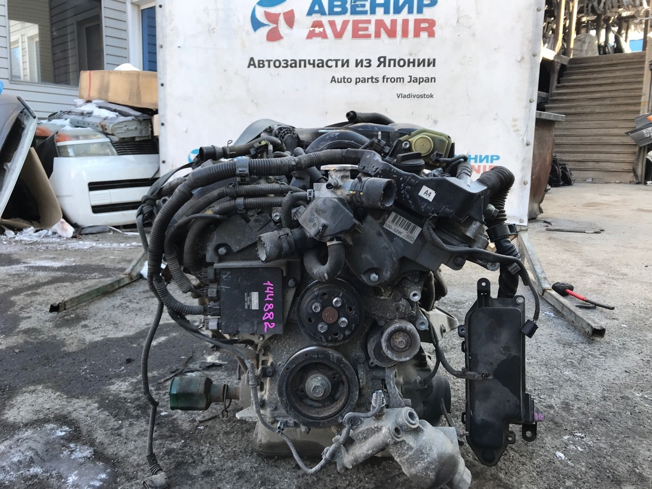 Двигатель Toyota Crown GRS183 3GR-FSE
