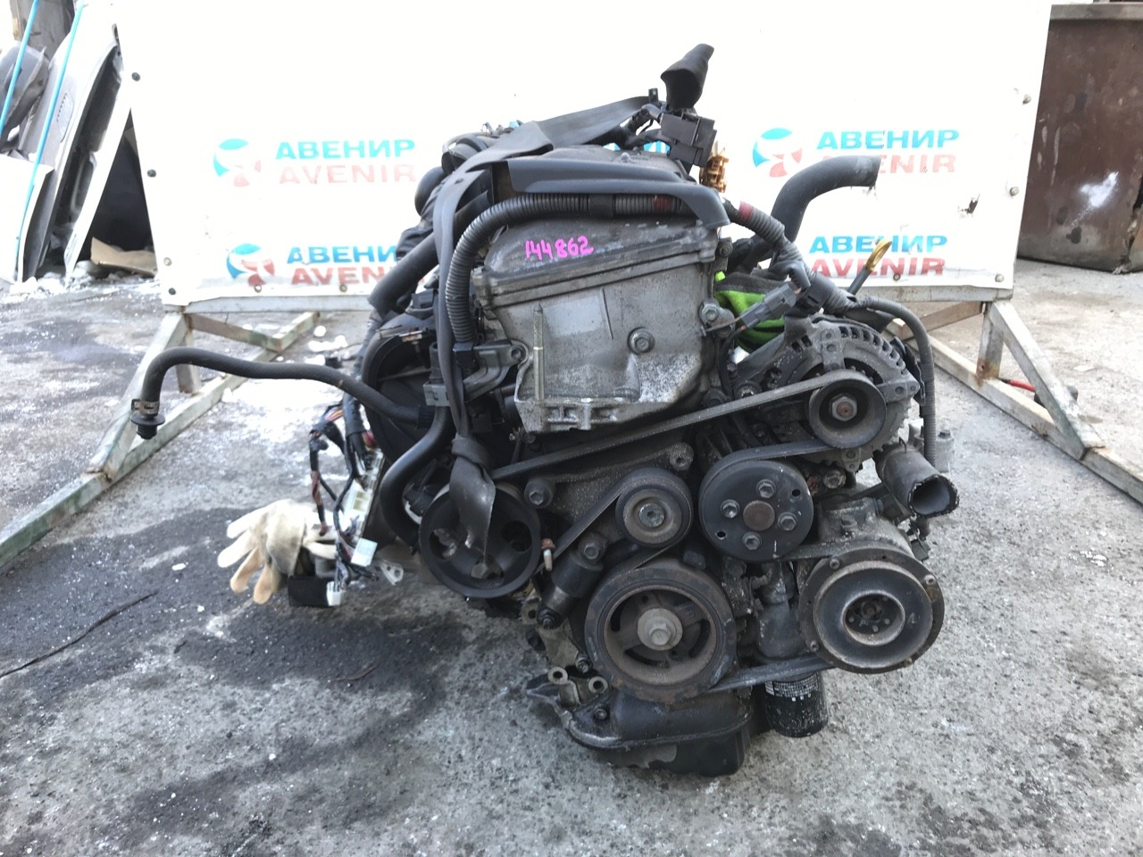 Двигатель Toyota Ipsum ACM26 2AZ-FE