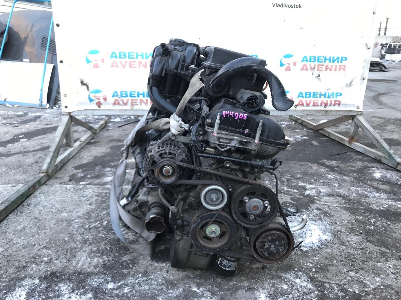 Двигатель Suzuki Hustler MR31S R06A
