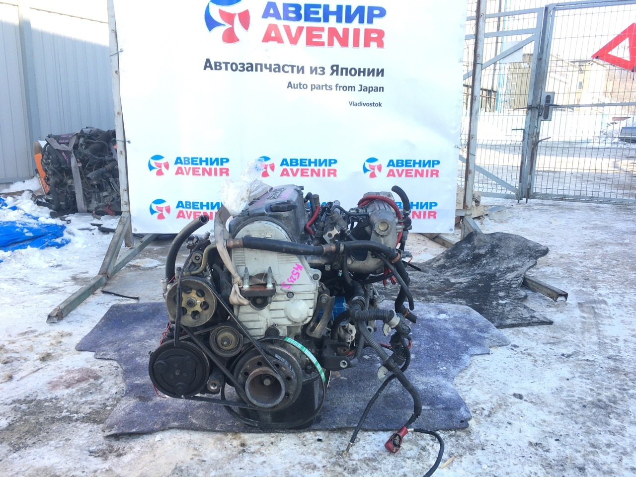 Двигатель Honda Cr-X Delsol EG1 D15B