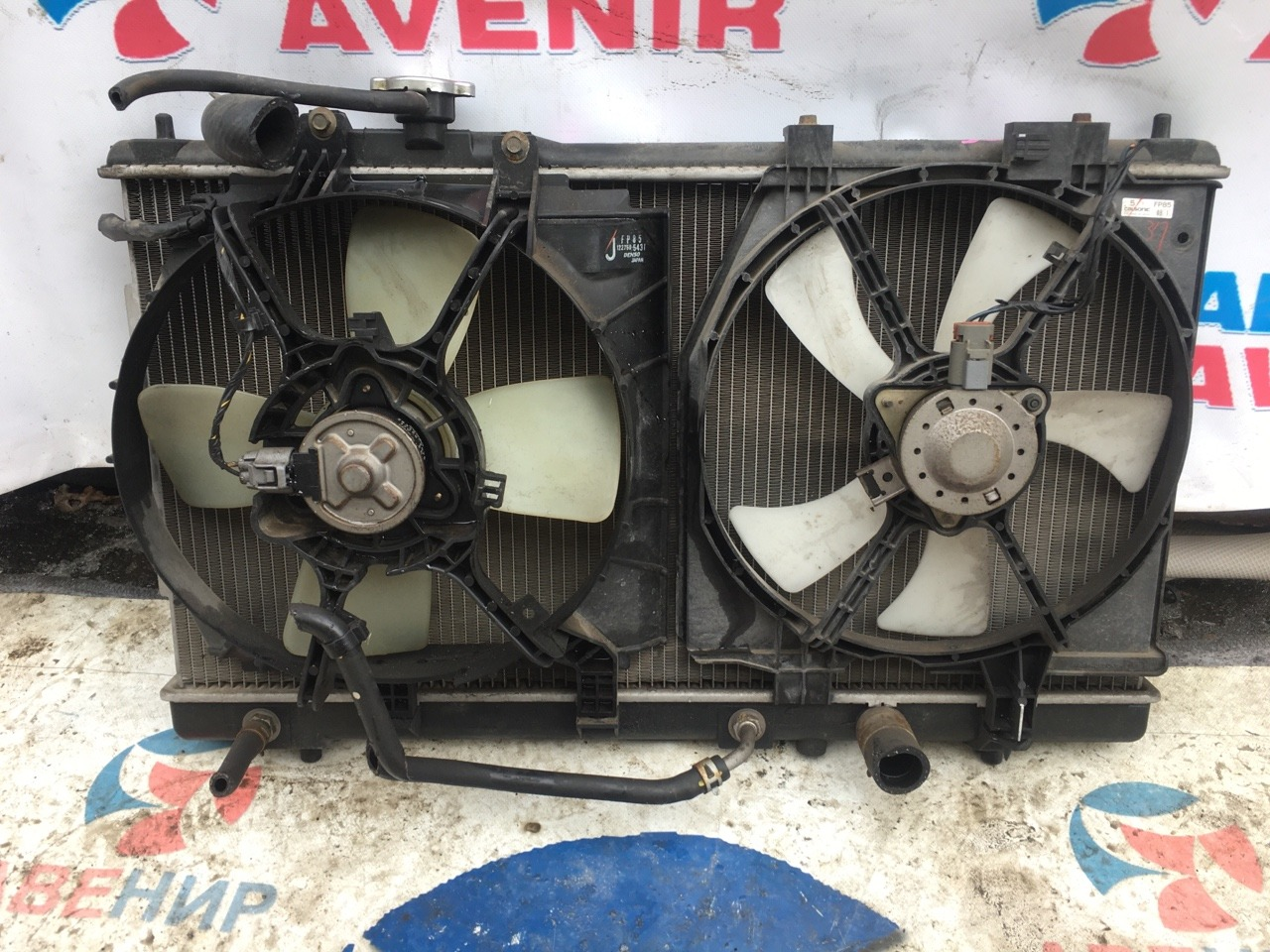 Диффузор радиатора Mazda Premacy CP8W FP-DE