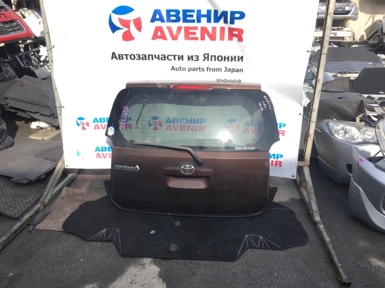 Дверь задняя Toyota Spade NCP141 задняя