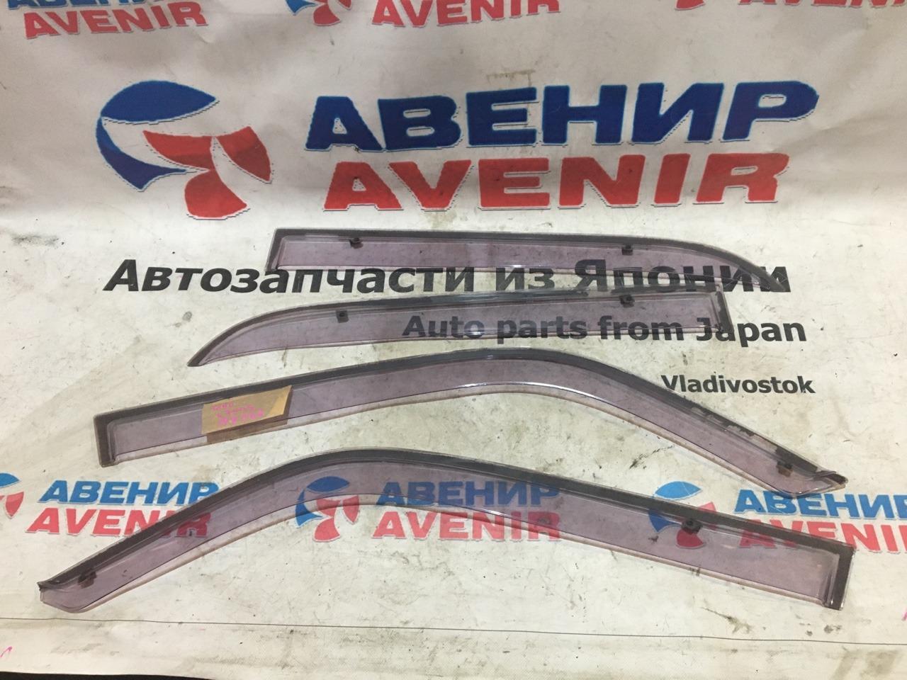 Ветровики комплект Daihatsu Mira Gino L700S
