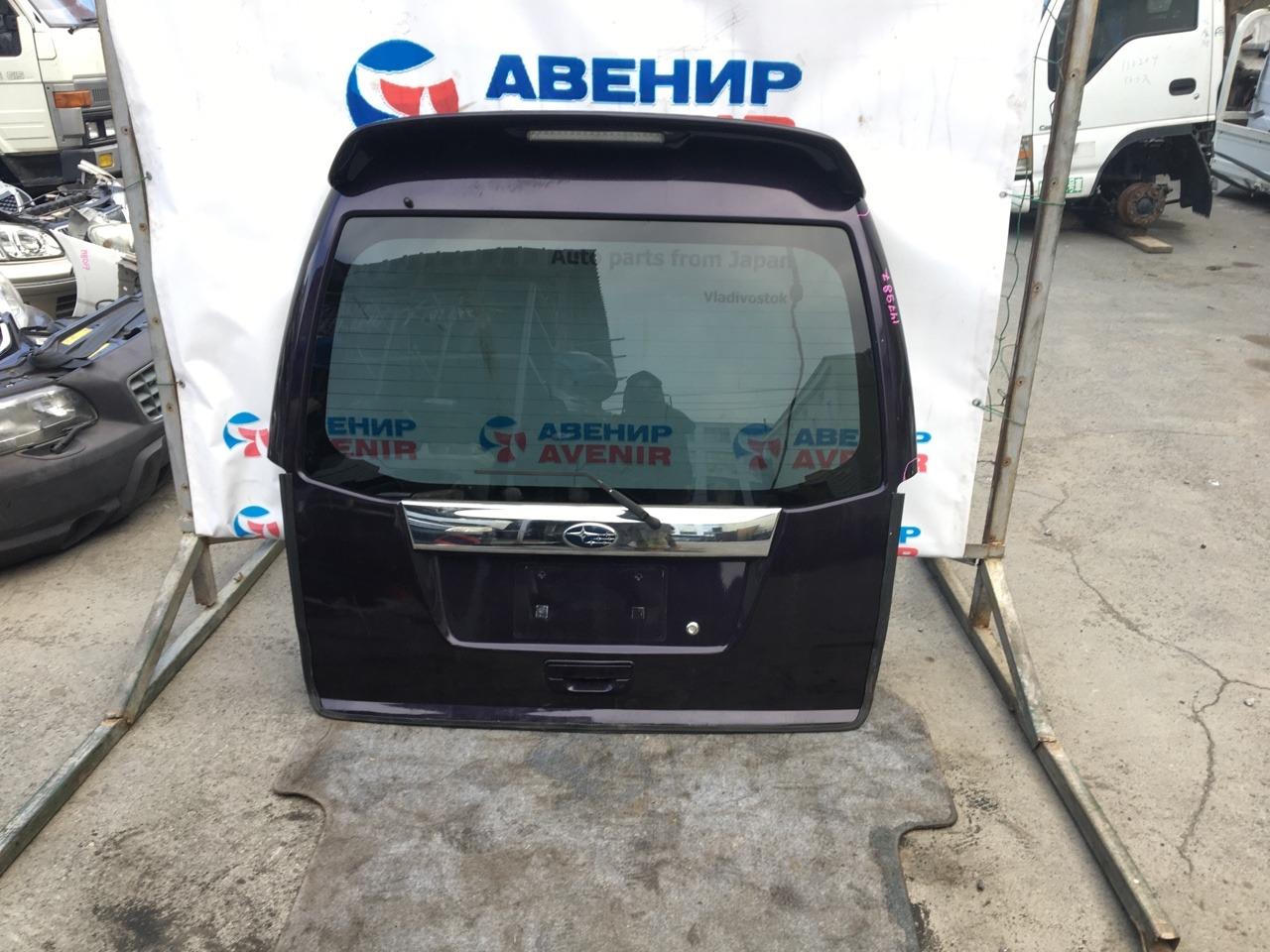Дверь задняя Subaru Sambar TV1 задняя