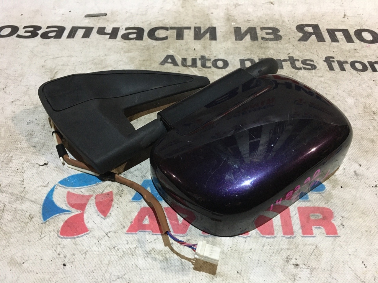 Зеркало Subaru Sambar TW2 переднее левое