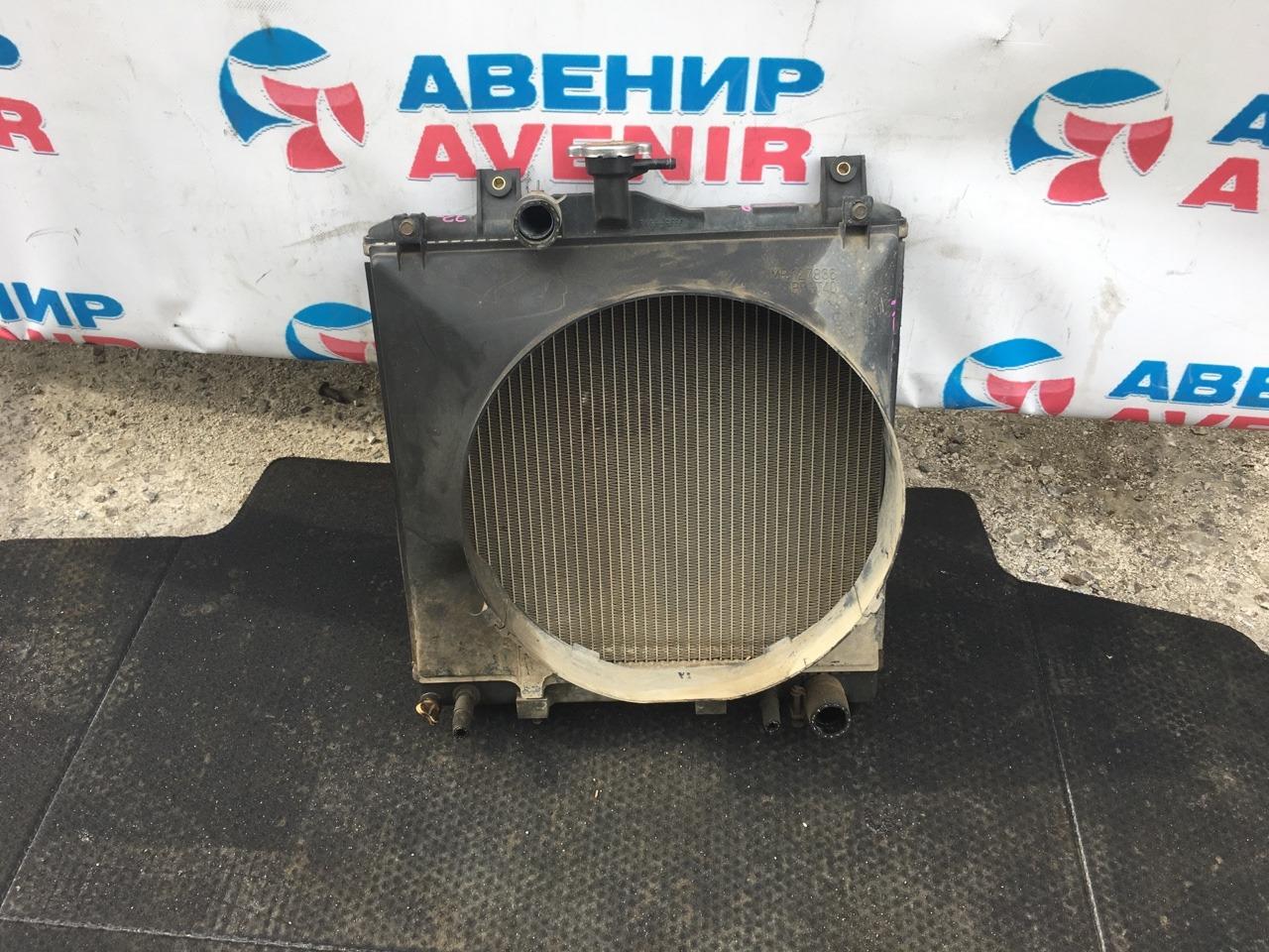 Радиатор Mitsubishi Pajero Mini H56A 4A30