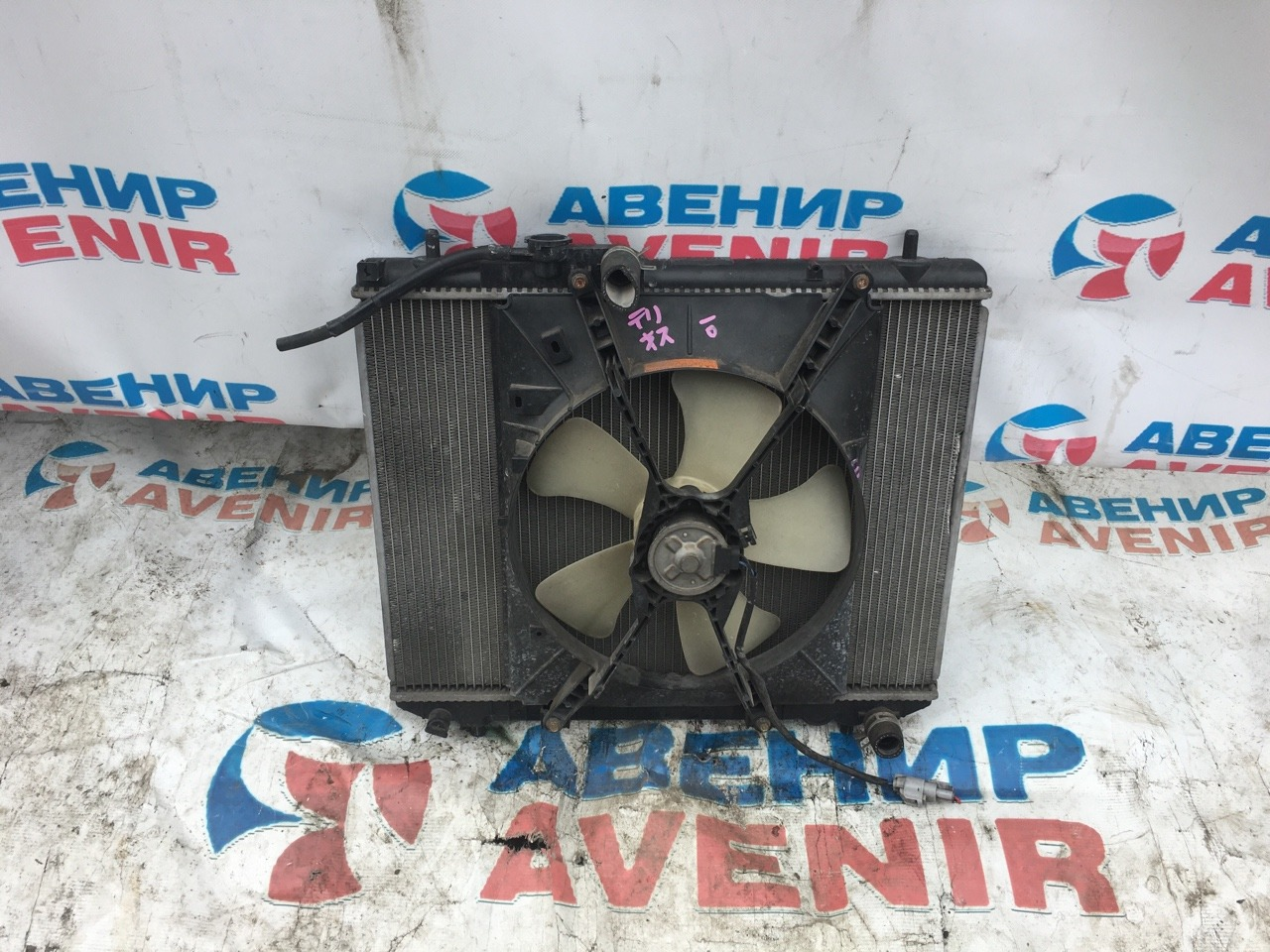 Радиатор Daihatsu Terios Kid J111G EF-DEM