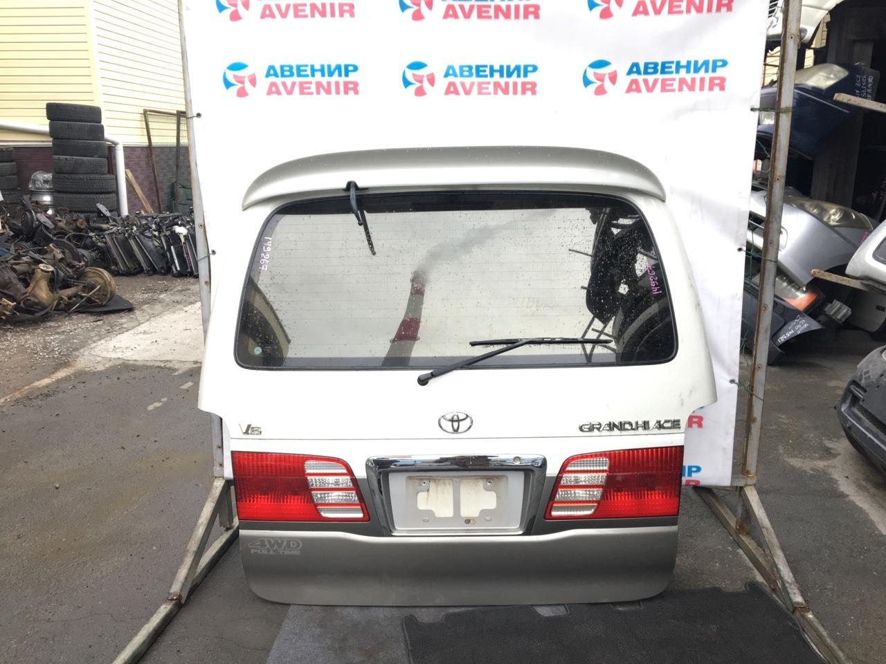 Дверь задняя Toyota Grand Hiace VCH10 задняя
