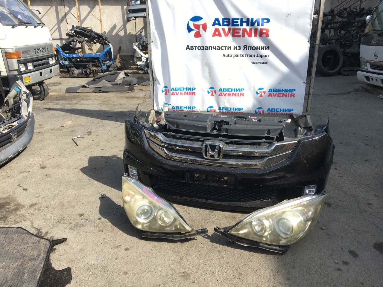 Nose cut Honda Stepwgn Spada RG1 K20A
