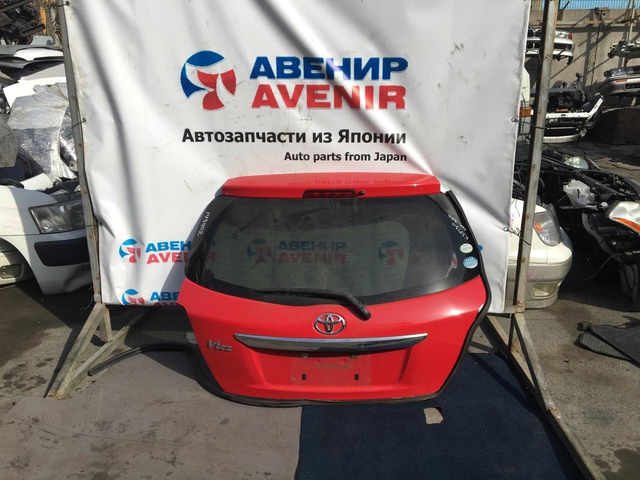 Дверь задняя Toyota Vitz KSP130 задняя