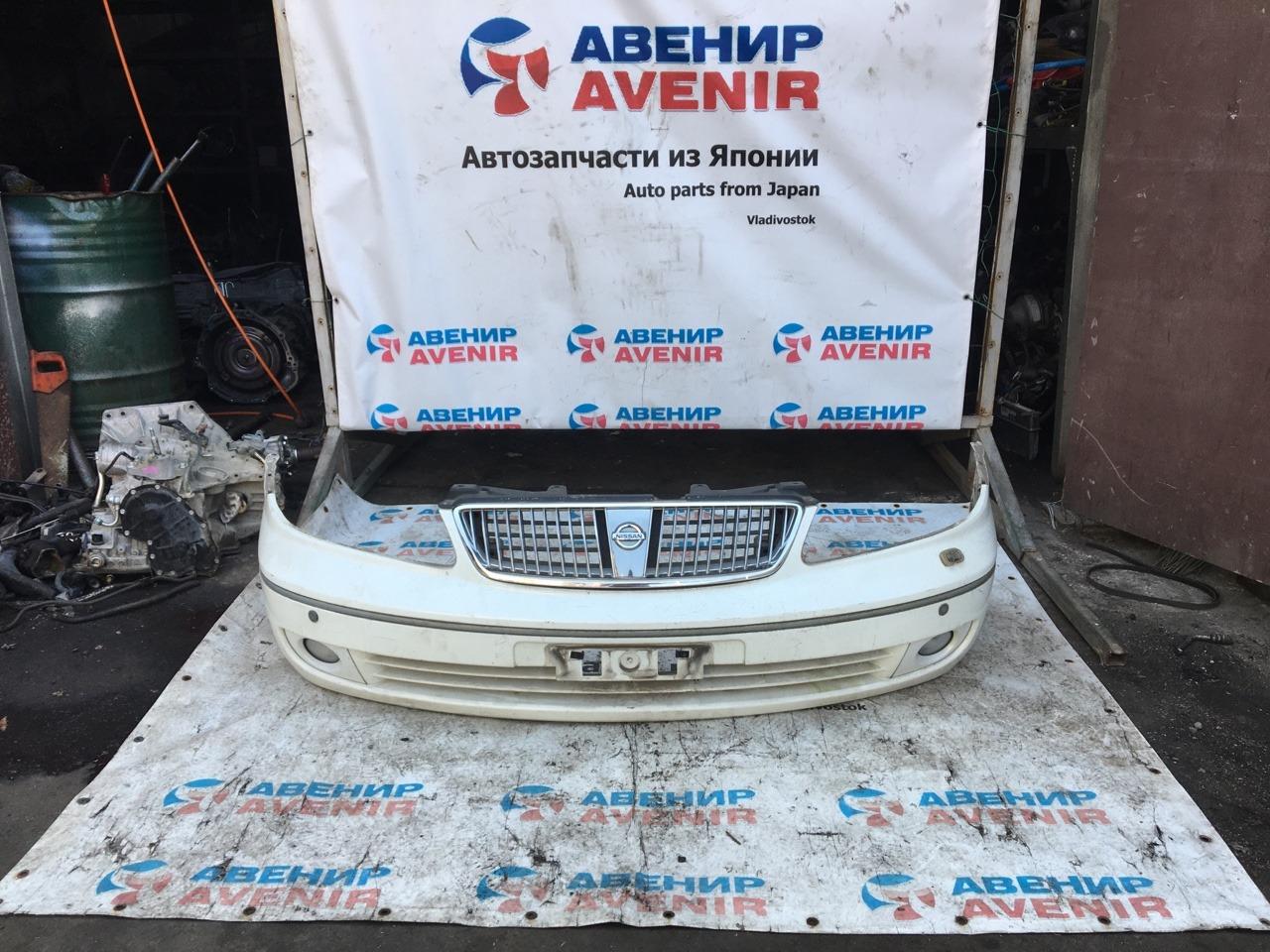 Бампер Nissan Blueberd Sylphy FG10 передний