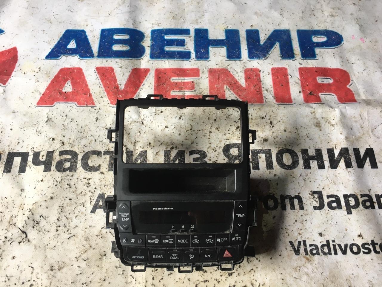 Климат-контроль Toyota Vellfire ANH20W 2GR-FE