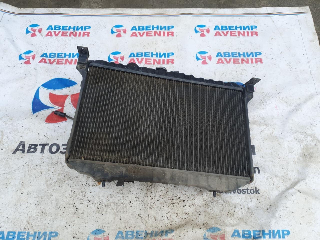 Радиатор Mitsubishi Eterna E17A 6G71 1988