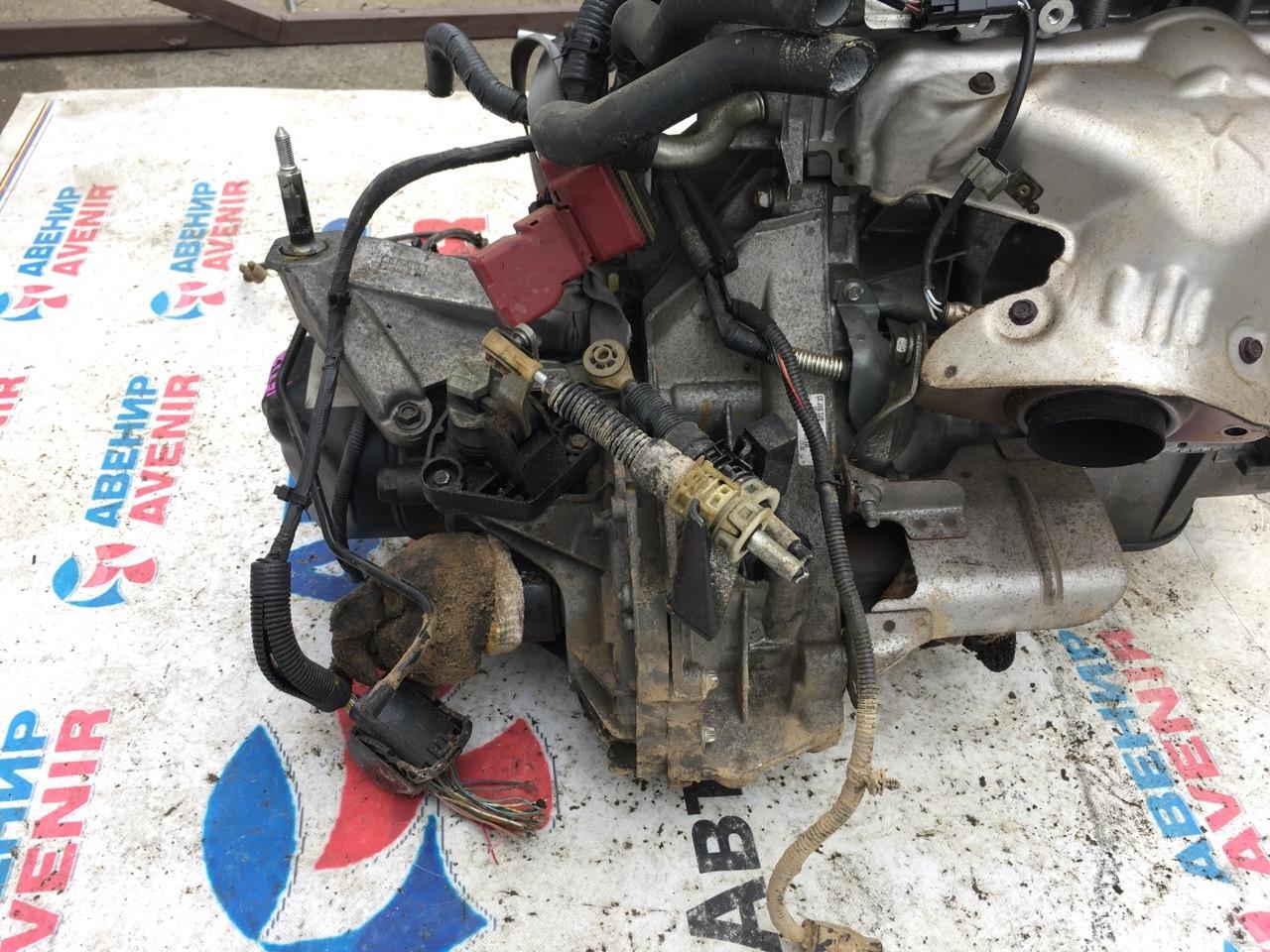 Мкпп Nissan Tiida Latio SZC11 HR16DE