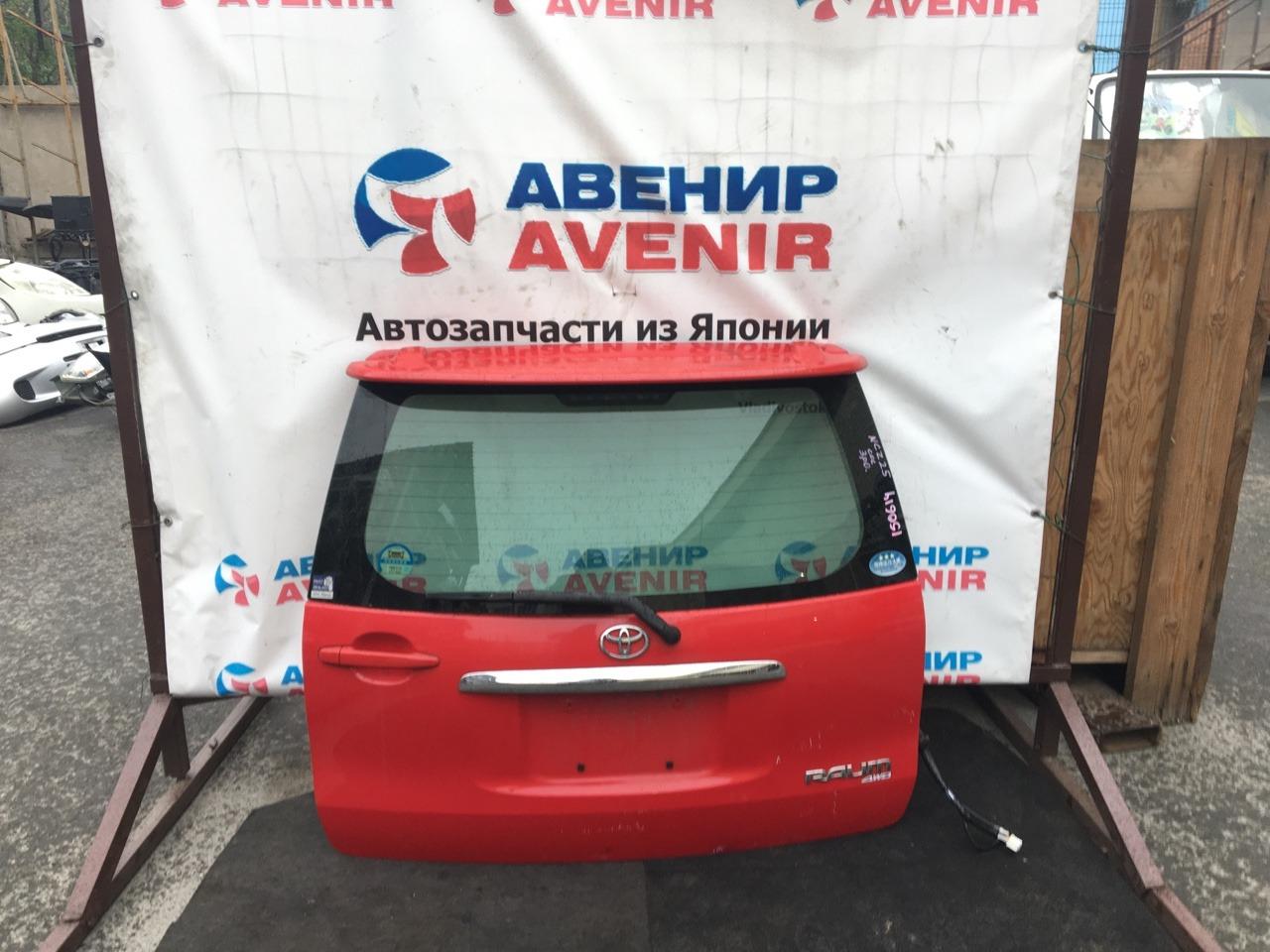 Дверь задняя Toyota Raum NCZ20 задняя